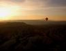 Balloon Flight On Sunset