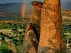 Rainbow over Fairy chimneys