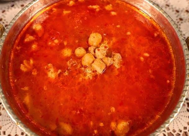Düğü Çorbası (a soup made of a kind of wheat grain)