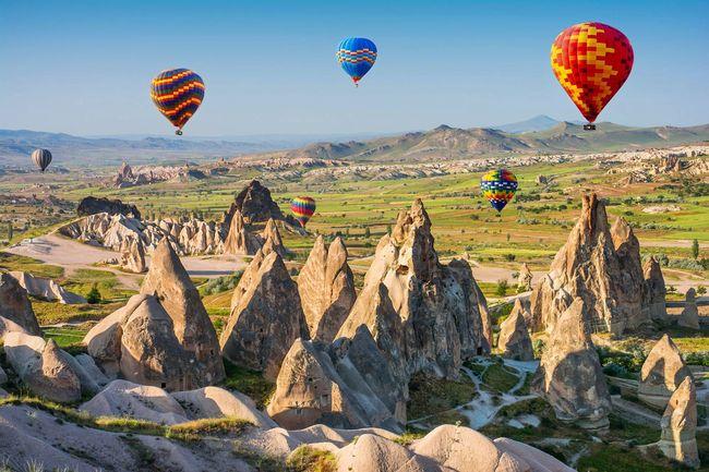 Fairy Chimneys of Cappadocia bring to the area a dreamy beauty