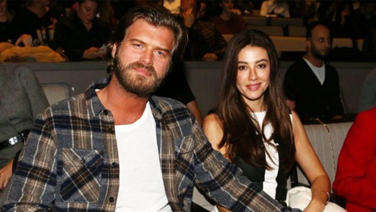 Kıvanç Tatlıtuğ and his wife Başak Dizer
