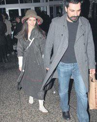 Bülent İnal with Beren Saat