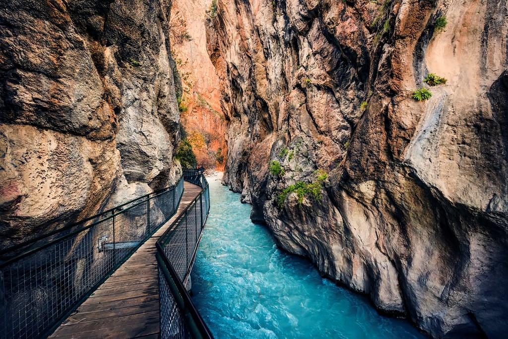Saklıkent Valley is a secret piece of heaven on earth that even God jealous for