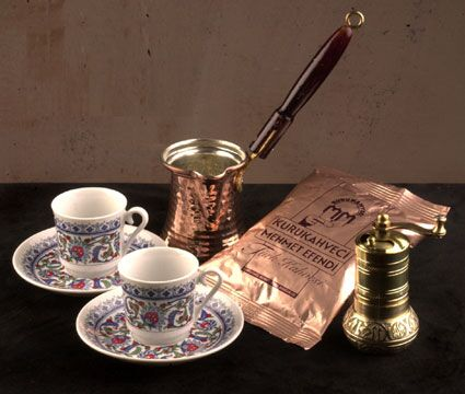 Turkish Coffee For Your Taste !
