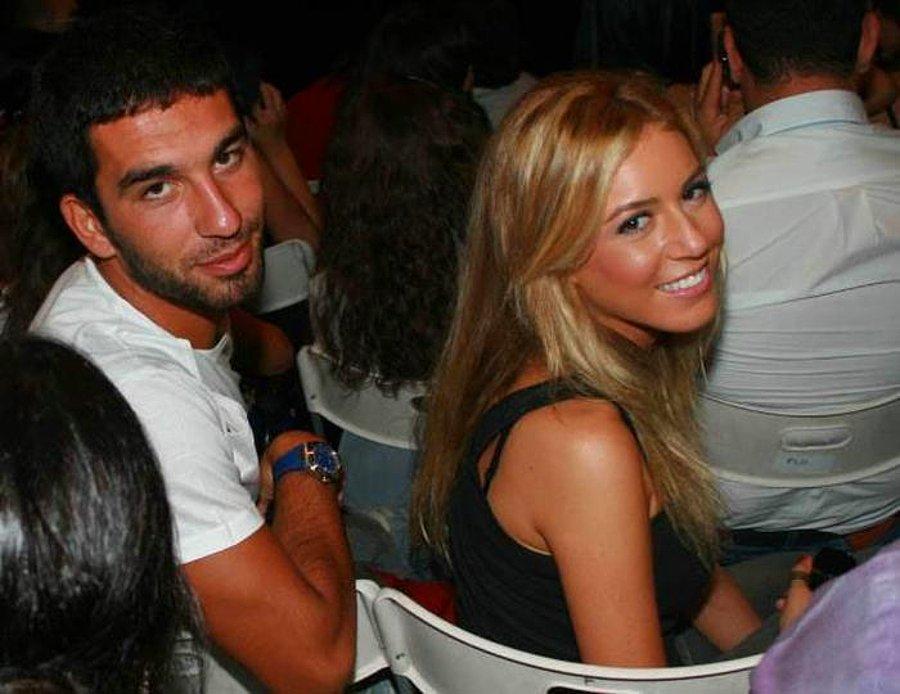 Sinem Kobal and national football player Arda Turan