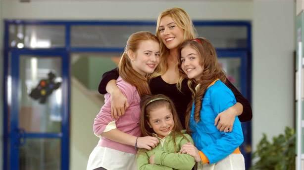 Sinem Kobal in Selena as an Angel who looks afters 3 orphans