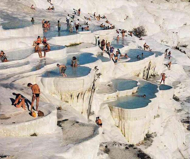 Pamukkale - Travertine Bathers