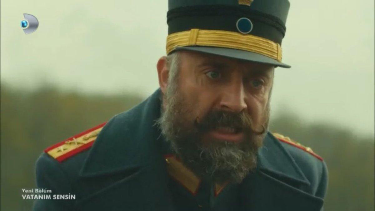 Halit Ergenç as General Cevdet in Vatanım Sensin (Wounded Love)
