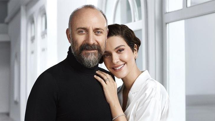The lovely couple Halit Ergenç and Bergüzar Korel