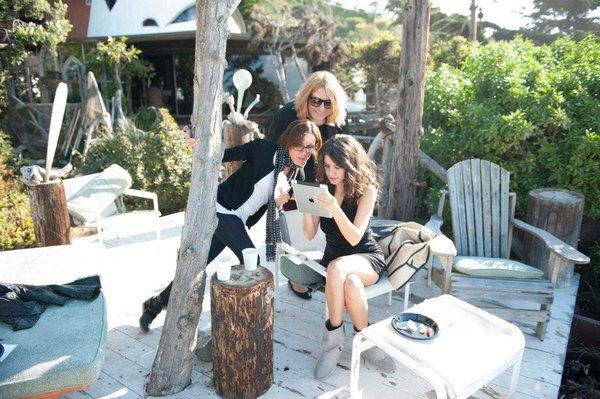 Beren Saat special photo shooting for ELLE