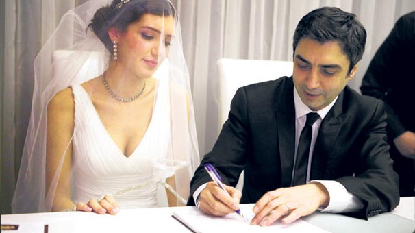 Necati Şaşmaz is married with Nagehan Kaşıkçı on 12.12.12