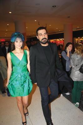 Beren Saat with Bülent İnal