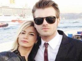 Kıvanç Tatlıtuğ with his sister Melisa