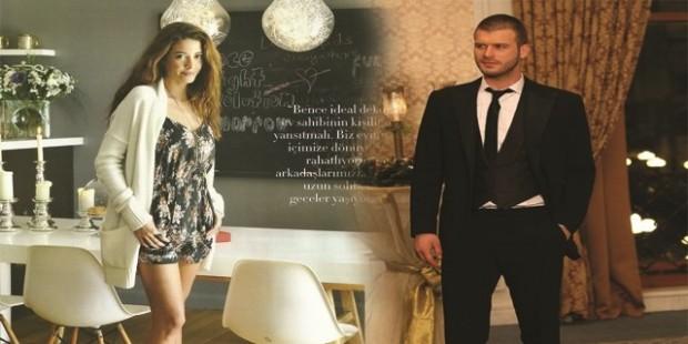 Kıvanç Tatlıtuğ's girlfriend Başak Dizer gave her first interview about their relatioship