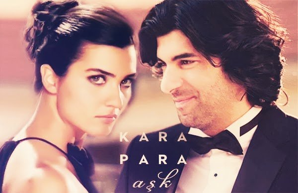 Engin Akyürek and Tuba Büyüküstün are starring in Kara Para Aşk-Dirty Money and Love