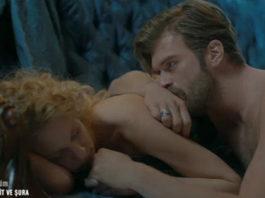 Kurt Seyt and Shura's love scene