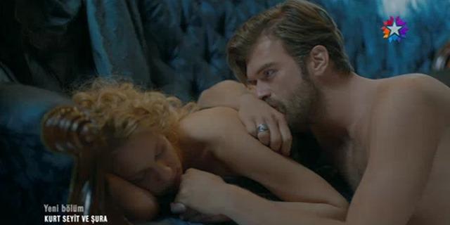 Kurt Seyd and Shura's love scene
