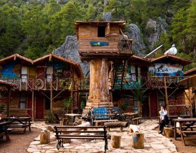 Tree houses of Olympos (from Kadir's Tree Houses)