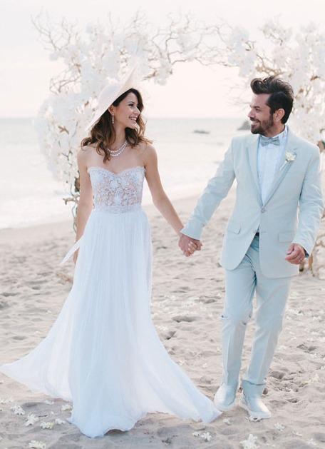 Beren Saat is married to Kenan Doğulu - Celebrities