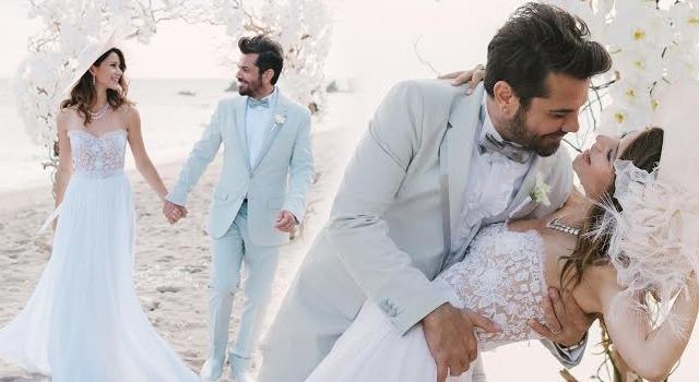 Beren Saat Kenan Dogulu Wedding pics - cover