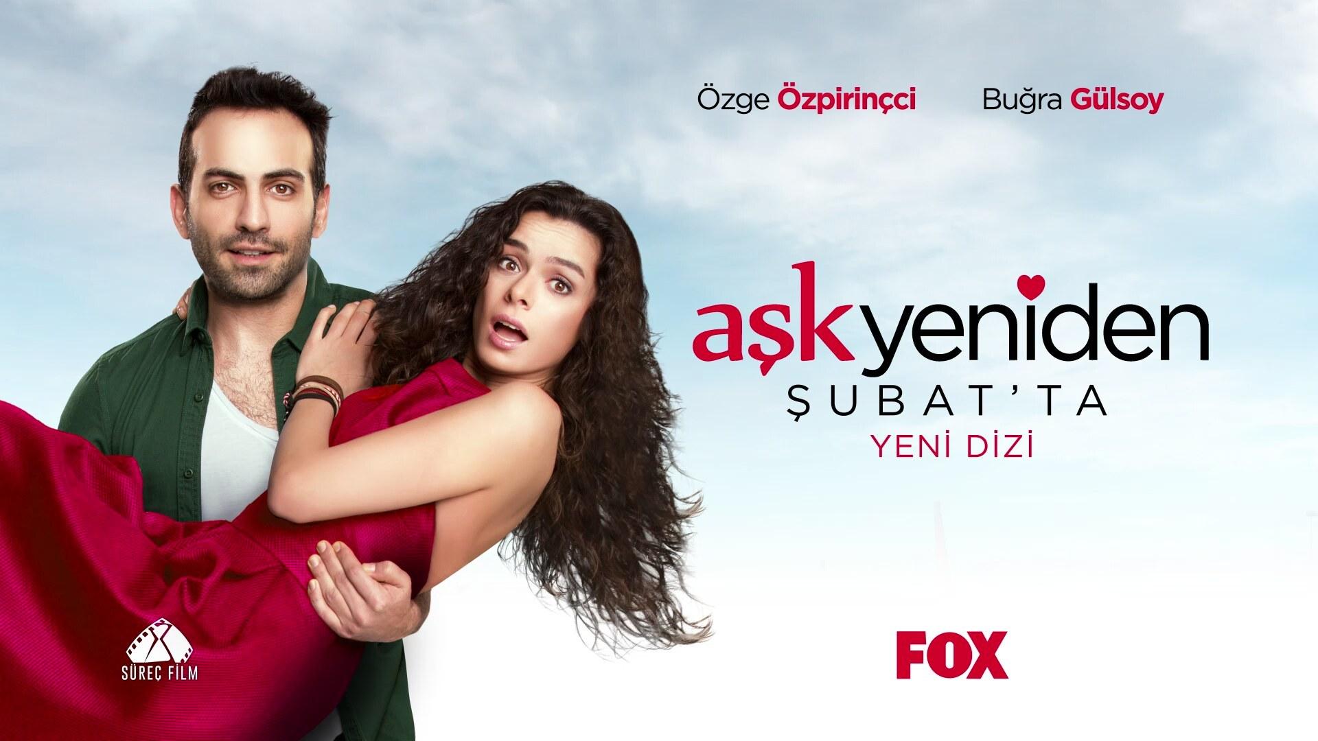 Buğra Gülsoy and Özge Özpirinççi in Aşk Yeniden (Love Again)