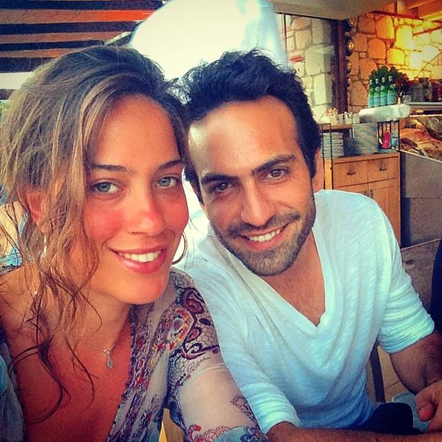 Buğra Gülsoy and his girlfriend Nilüfer Gürbüz -1