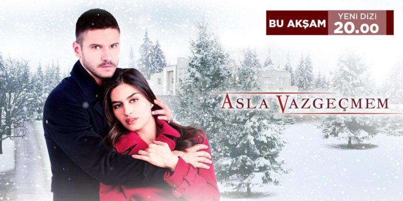 Tolgahan Sayışman and Amine Gülşe in Asla Vazgeçmem - I'll Never Give Up