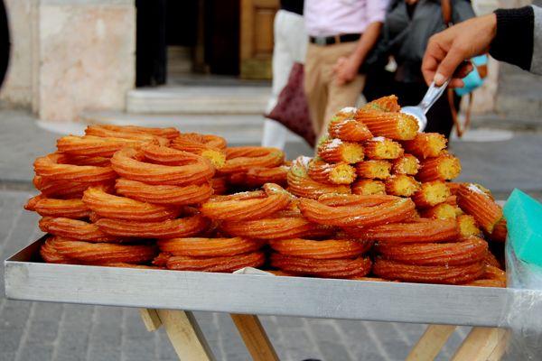 Halka Tatlısı (Circular Dessert) a.k.a. Kerhane Tatlısı (Brothel Dessert)