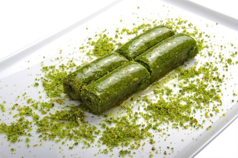 Fıstıklı Sarma - A feast of pistachios