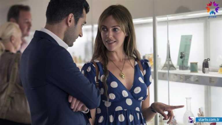 Finally Meryem Uzerli's new tv series 'Gecenin kraliçesi – Queen of the Night' is starting