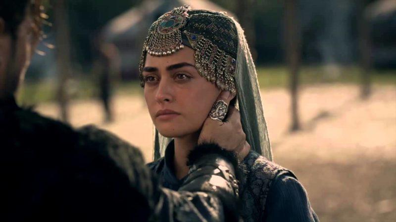 """Esra Bilgiç as """"Halime"""" in Diriliş Ertuğrul (Ressurrection Ertugrul)"""