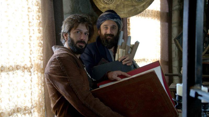 Hezarfen Ahmed Çelebi and Evliya Çelebi in Magnificent Century Kösem