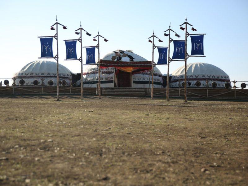 Kayı Tribe's Nomad Tents