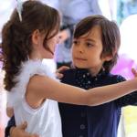 Küçük Ağa (Little Master) dancing with his girlfriend