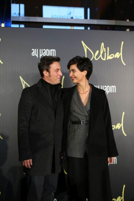 Tuba Büyüküstün and her husband Onur Saylak