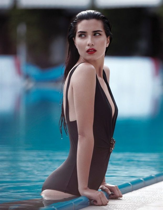 Tuba Büyüküstün in a sexy swimsuit