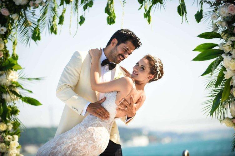 Fahriye Evcen and Burak Özçivit got married!