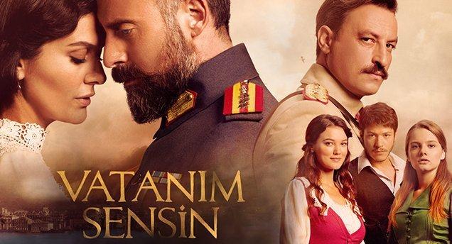 Vatanım Sensin - Your are my Motherland - Turkish historical tv series