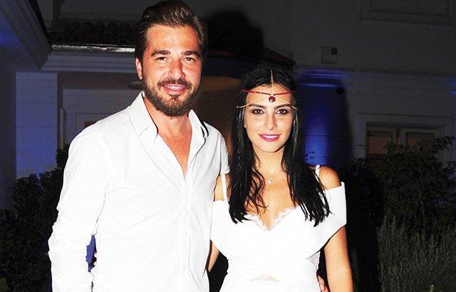 Engin Altan Düzyatan with his wife Neslişah Alkoçlar