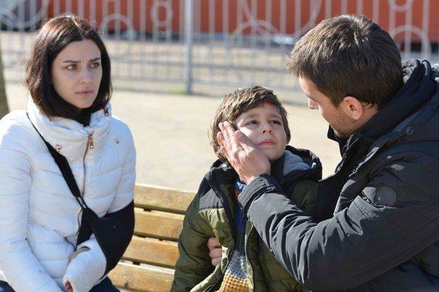 Tahir, Nefes and her boy in Sen Anlat Karadeniz - You Tell Me Karadeniz - Drama Tv Series