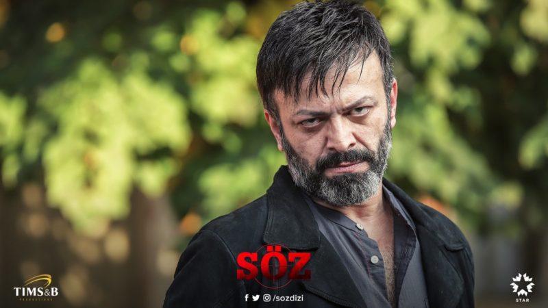 Serhat Çolak The Bad Guy in Söz The Oath tv series