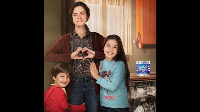 Bahar and her children