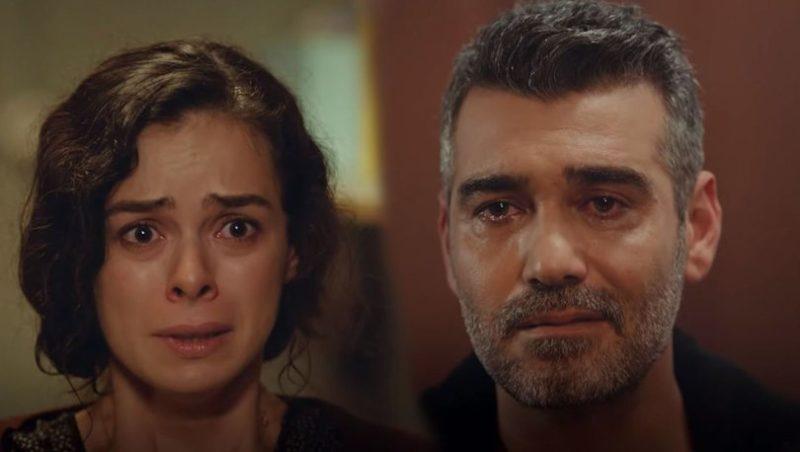 Bahar(played by Özge Özpirinçi) and Sarp (played by caner Cindoruk)