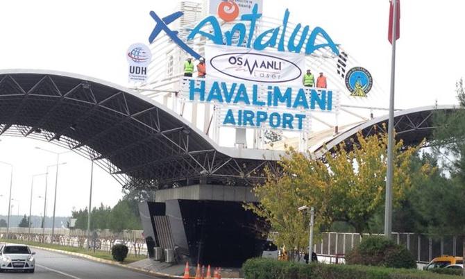 Entrance of Antalya Airport