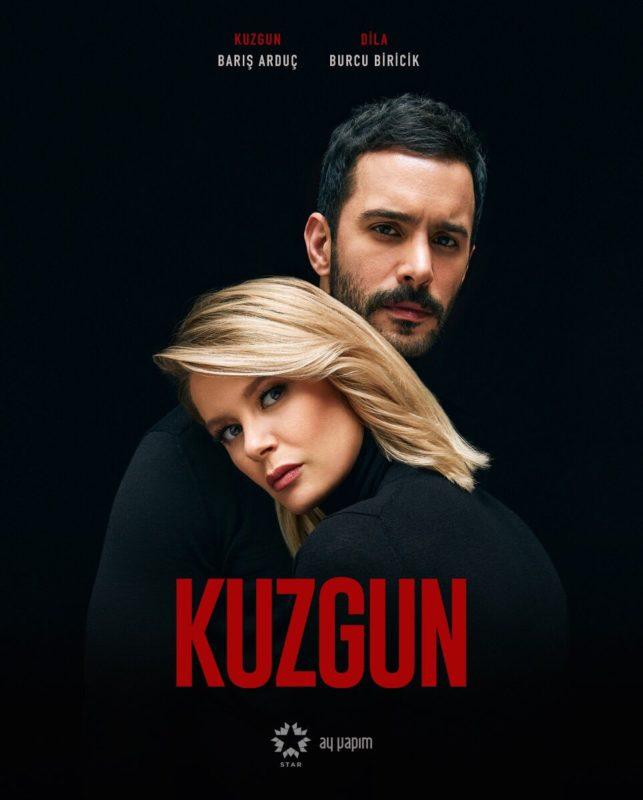 Kuzgun (Yusuf Cebeci), played by Barış Arduç and Dila Bilgin, played by Burcu Biricik