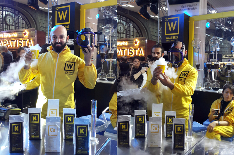 "Istanbul Cofee festival and the Famous Coffee Shop of Kadikoy ""Walters"" insipred by Breaking Bad"