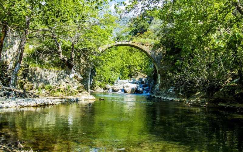 Kaz Dağları National Park has a very high oxygen content