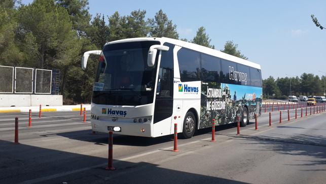 Havas Bus Antalya Airport