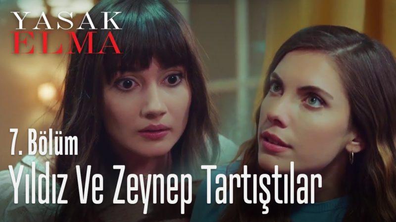 Zeynep Yılmaz played by Sevda Erginci, and Yıldız Yılmaz played by Eda Ece