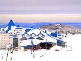 Uludağ Ski Resort is located in Bursa, very close destination to Istanbul